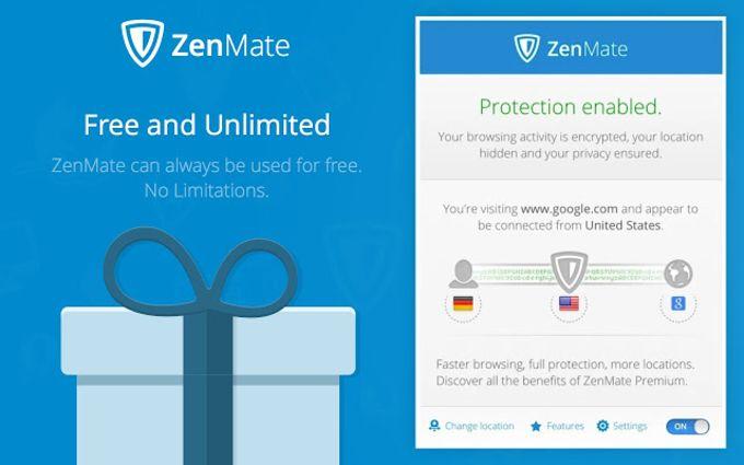 ZenMate VPN - Best Cyber Security & Unblock
