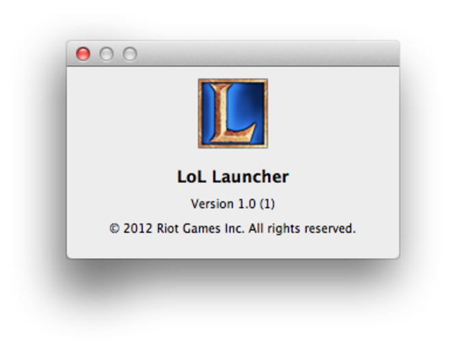 League of Legends for Mac