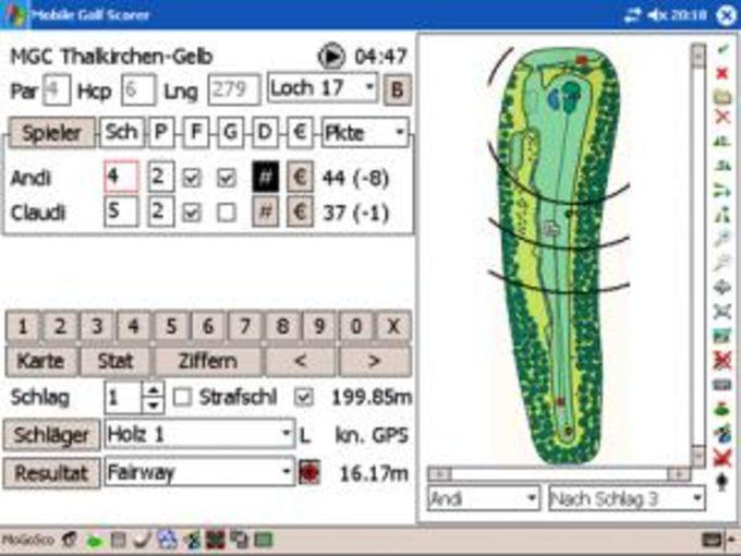 Mobile Golf Scorer