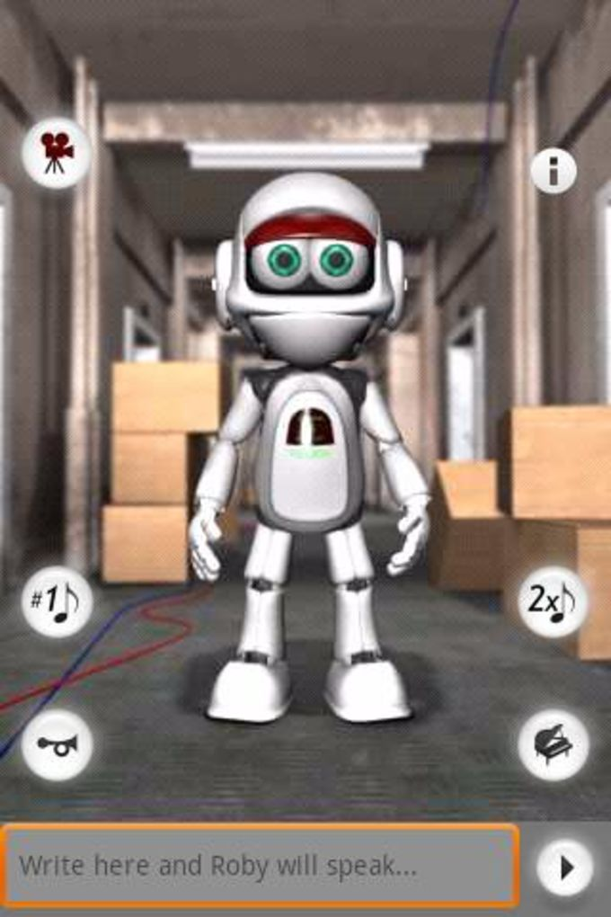 Talking Roby the Robot