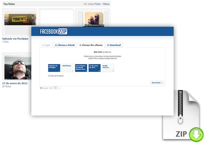 Facebook 2 ZIP