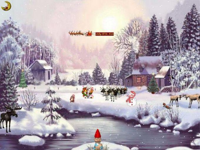 Christmas Adventure 3D Screensaver