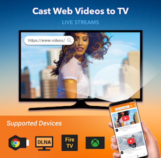 Cast Web Video Chromecast cast web browser to tv