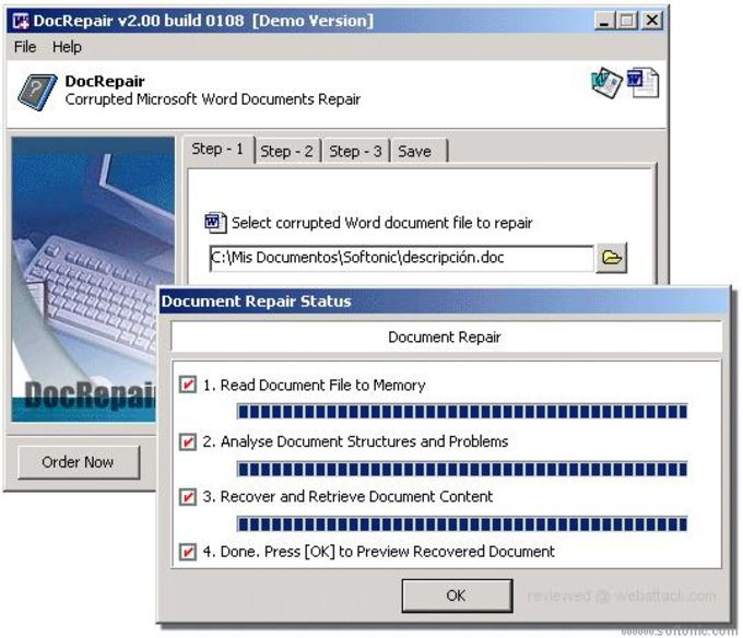 DocRepair Download - Word document download