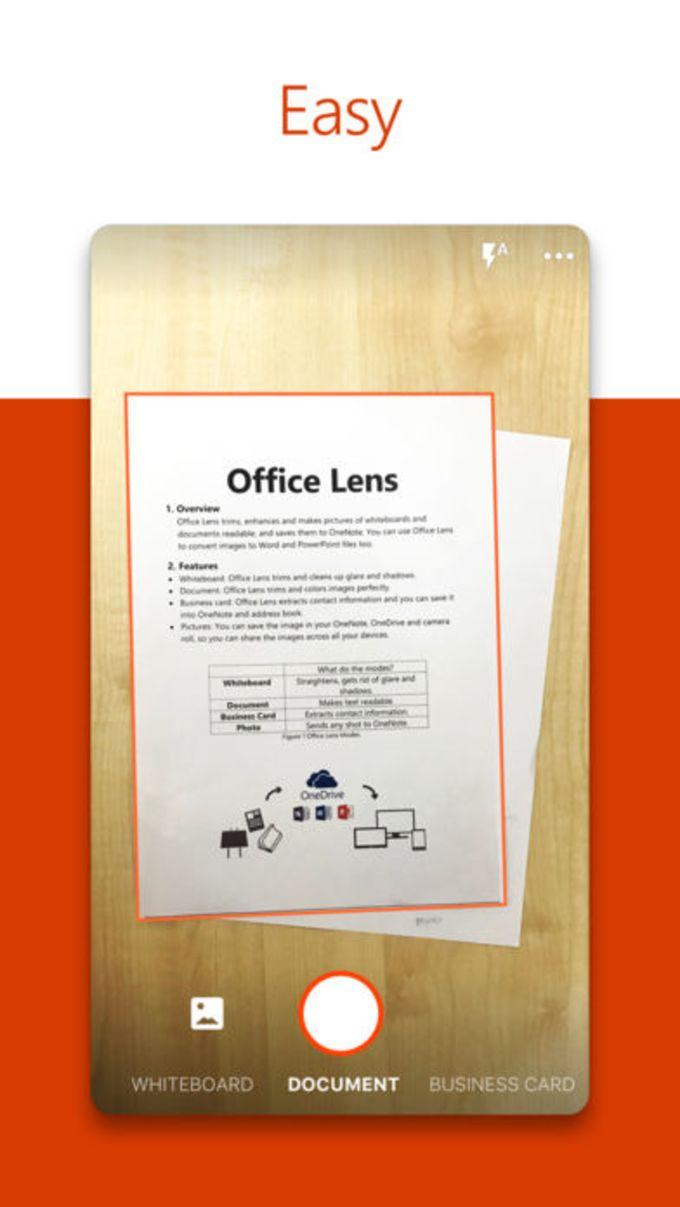 Microsoft Office LensPDF Scan