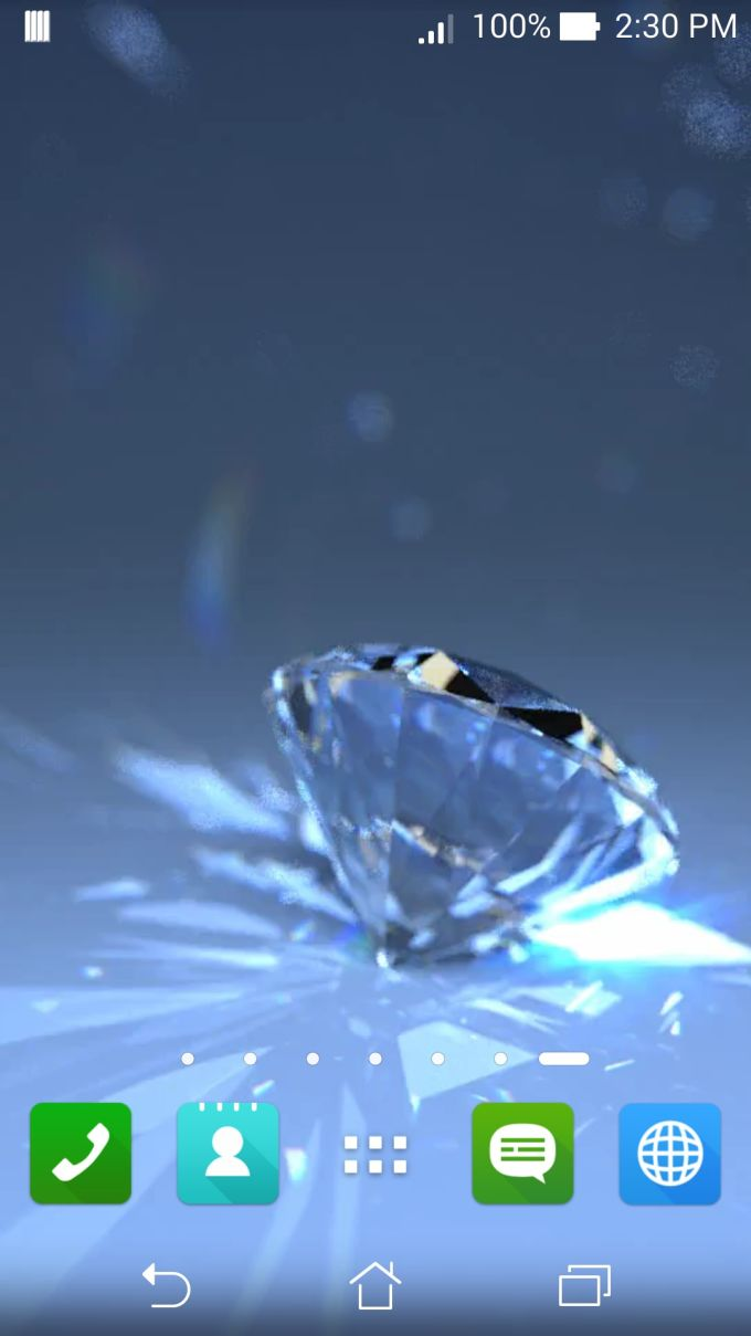 Interactive Diamonds Wallpaper