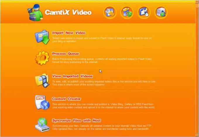 Camtix Web Video Publisher