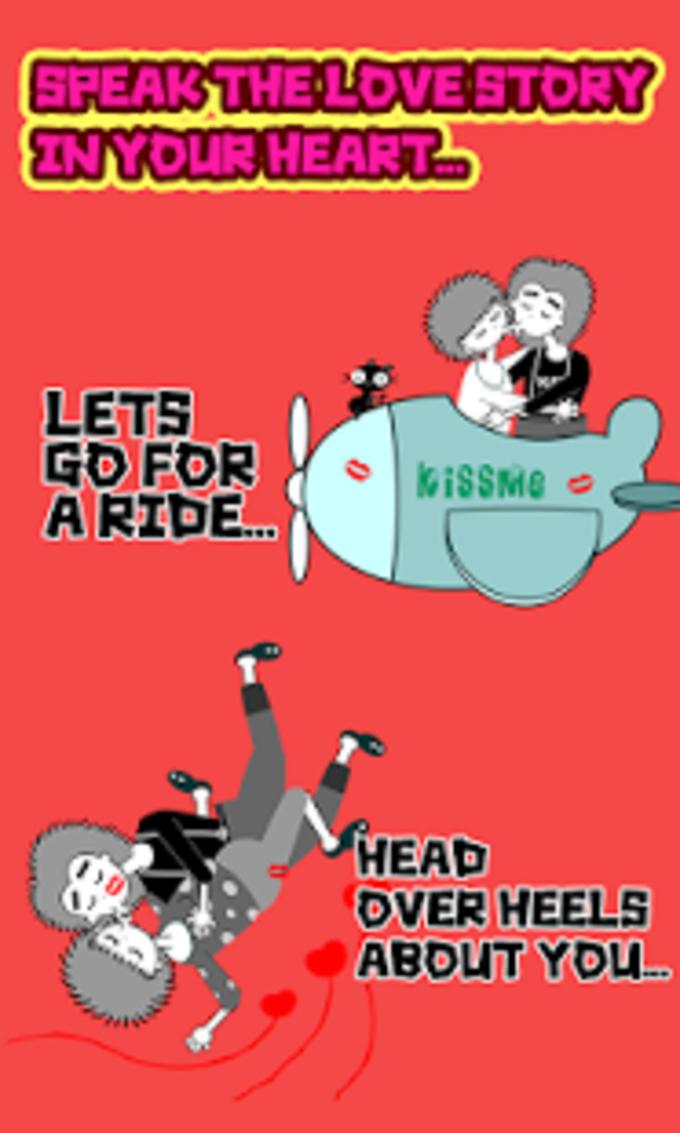 My Chat Sticker Love Story