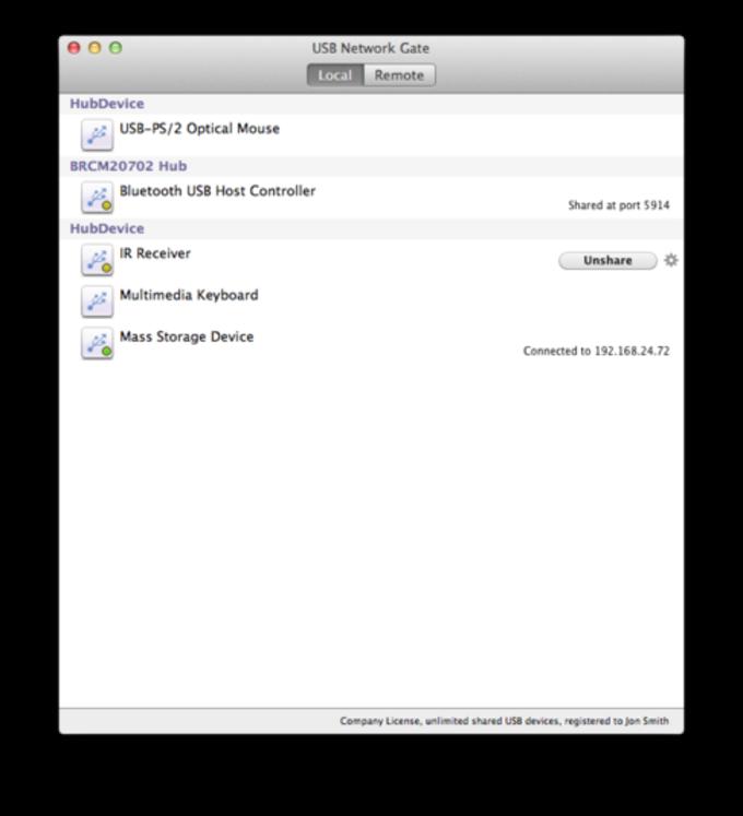 USB Network Gate for Mac