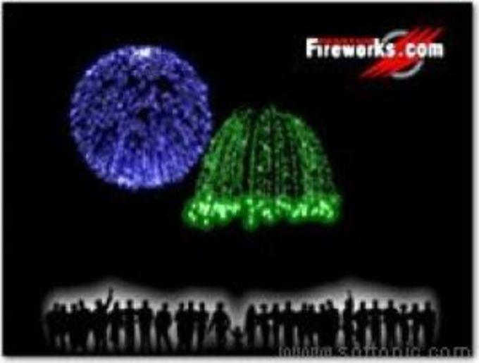 Phantom Fireworks Show Screensaver