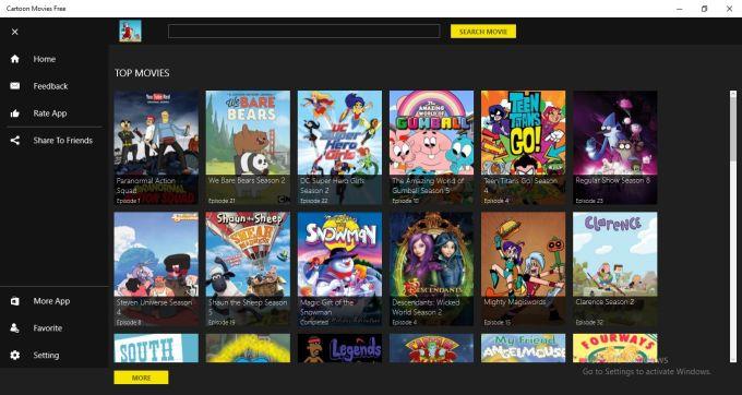 Cartoon Movies Free