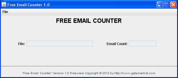 Free Email Counter
