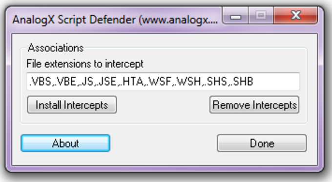 AnalogX Script Defender