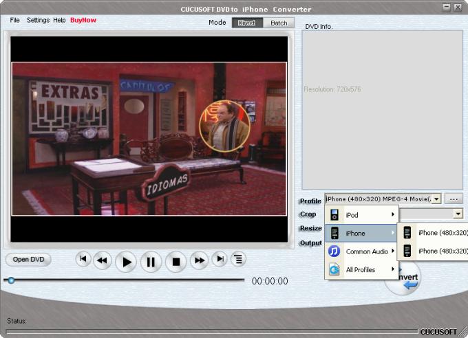 Cucusoft DVD to iPhone Converter Suite