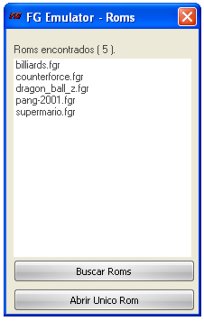FG Emulator