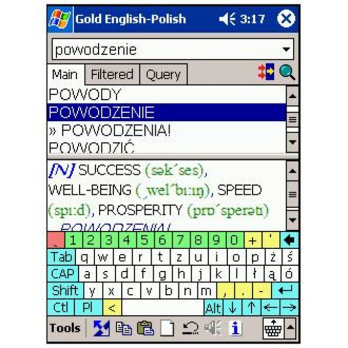 LingvoSoft Gold Talking Dictionary English-Polish