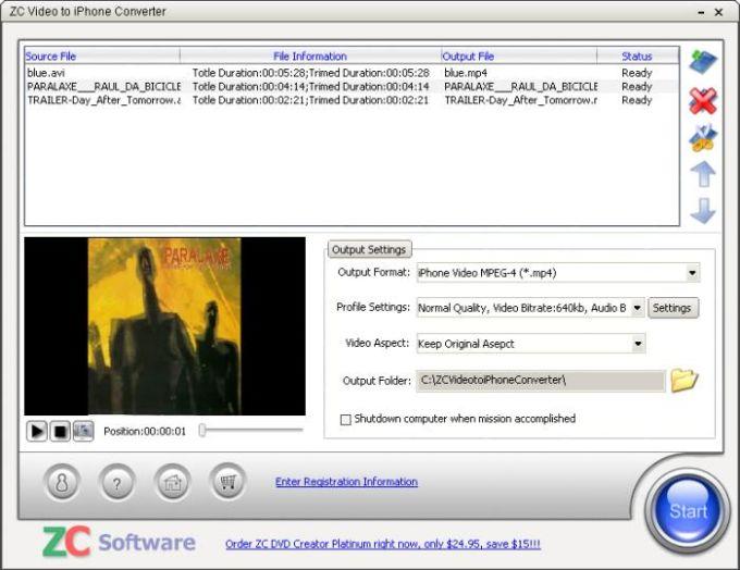 ZC Video to iPhone Converter
