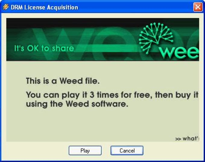 Weed Media Activator