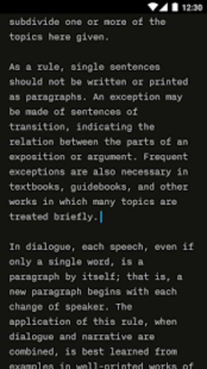 iA Writer: Note, write, edit.