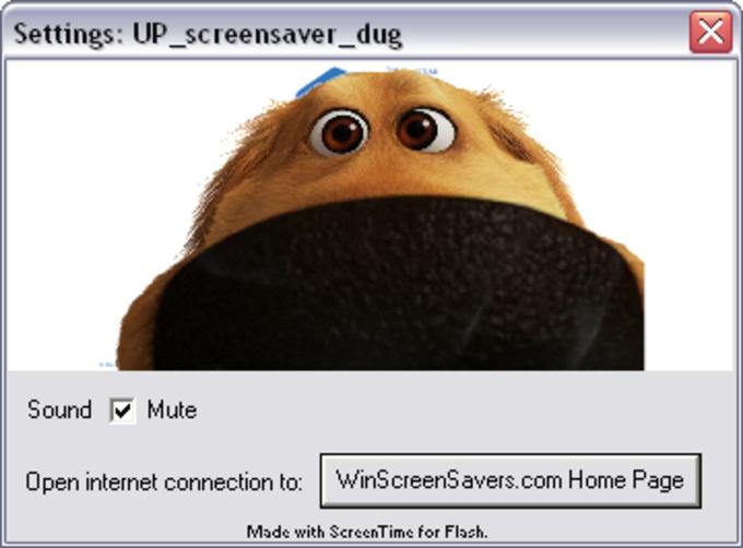 Up Screensaver