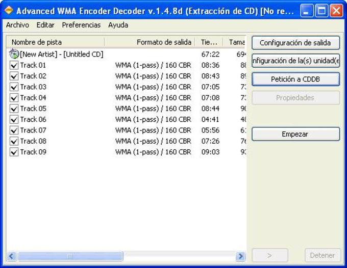 WMA Encoder Decoder