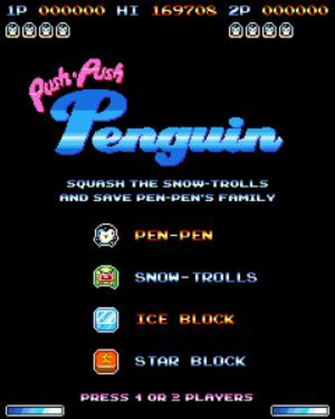 Push-Push Penguin