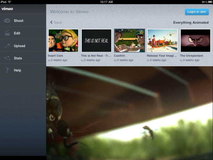 vimeo for iphone download
