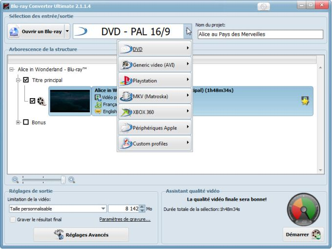 VSO Blu-ray Converter Ultimate