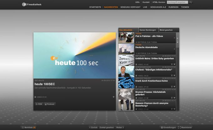 ZDF App
