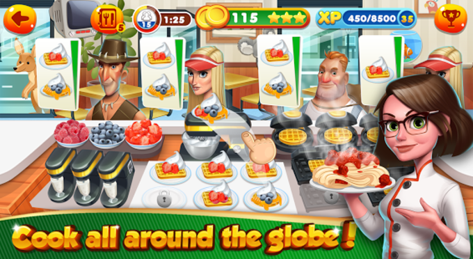 Cooking Games Chef Burger Food Kitchen Restaurant
