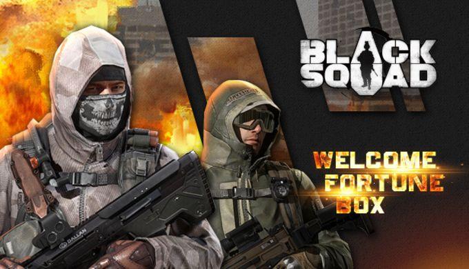 Blacksquad - Welcome Fortune Box