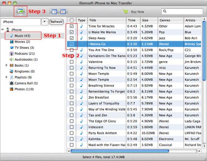 iStonsoft iPhone to Mac Transfer