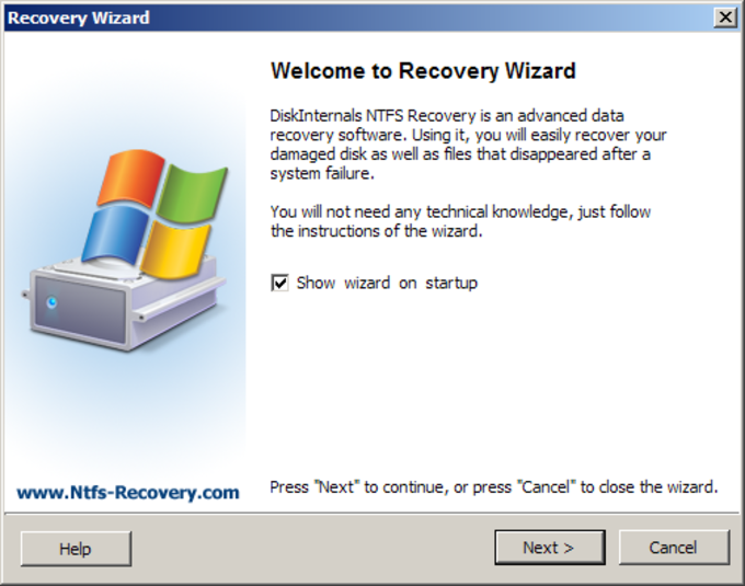 1st NTFS Recovery