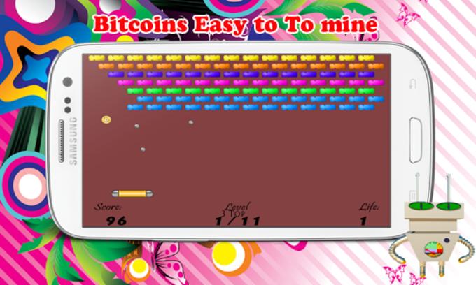Bitcoin interruptor Arkanoid