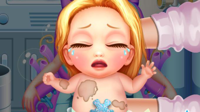 Mermaid's Newborn Baby Doctor