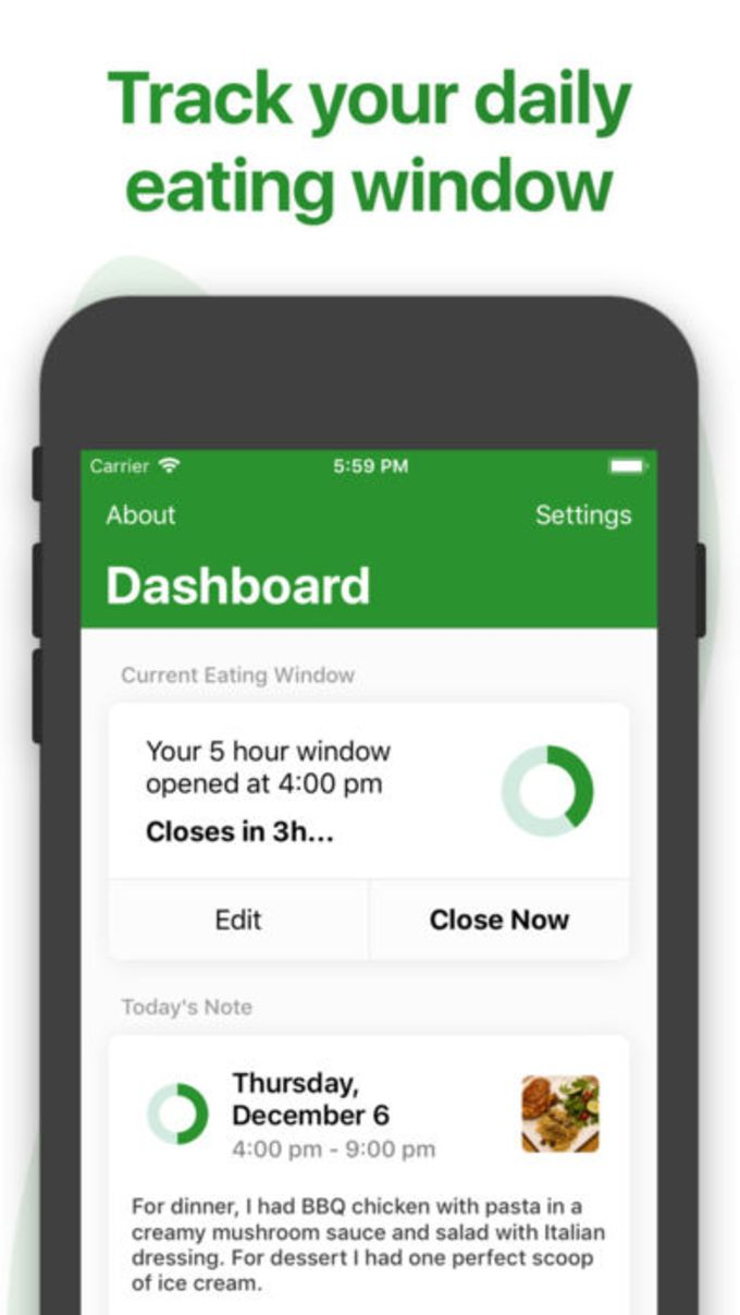 Window - Fasting Tracker