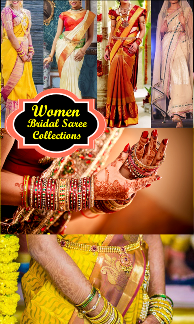 Women Bridal Saree Collections