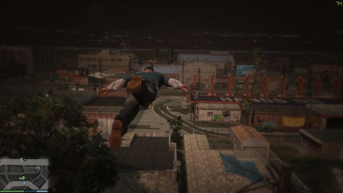 GTA 5 No Water + Tsunami + Atlantis Mod