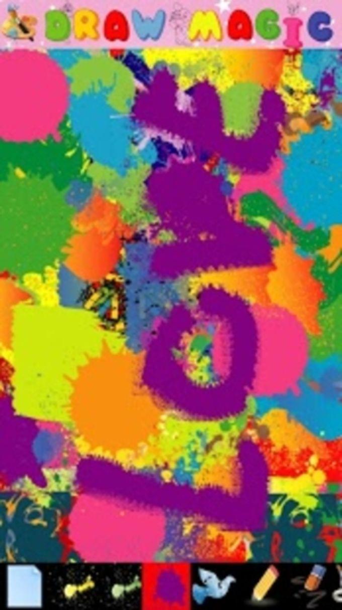 Pintor abstracto para los niño