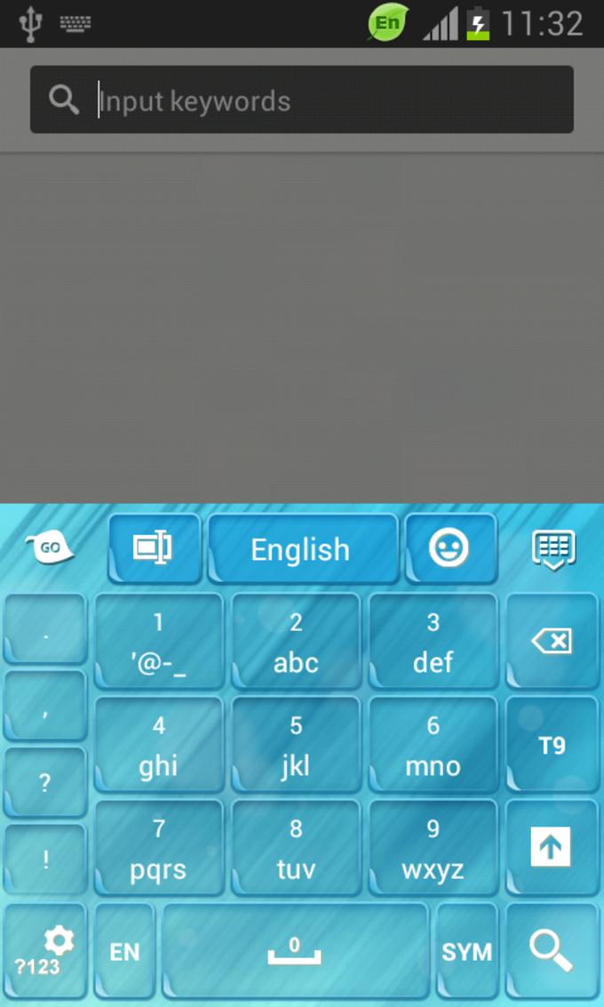 GO Keyboard Light Blue Free