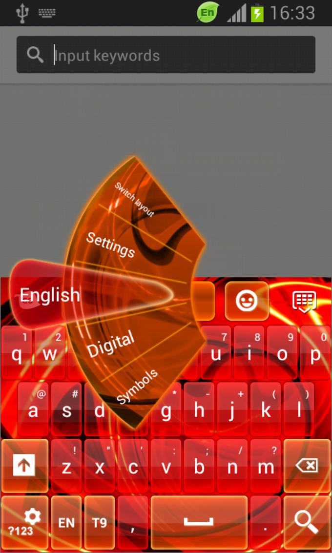 GO Keyboard Neon Nights