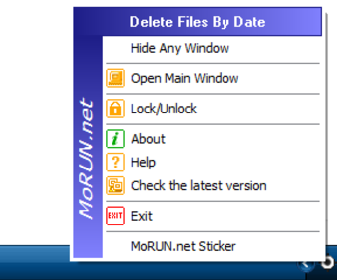 Delete Files By Date