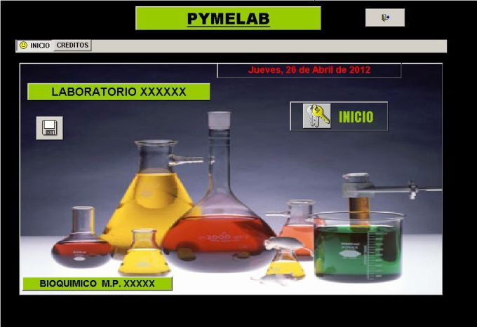 PYMELAB SOFTWARE BIOQUIMICO