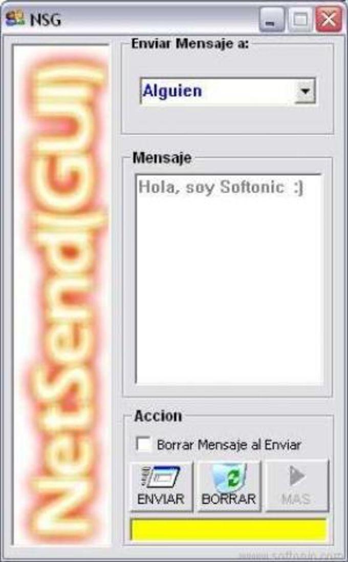 Net Send (GUI)