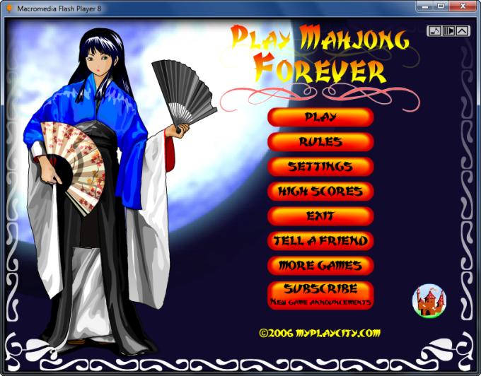 Play Mahjong Forever