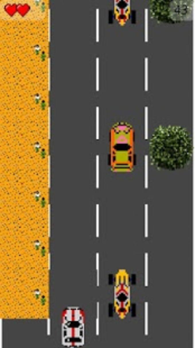 Infinite Road Driver - 16 Bits