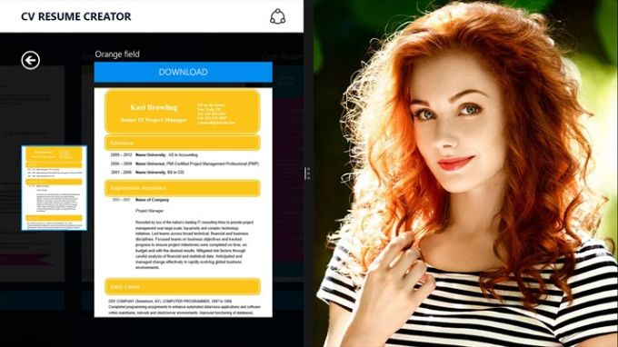Cv resume creator download authors review altavistaventures Choice Image