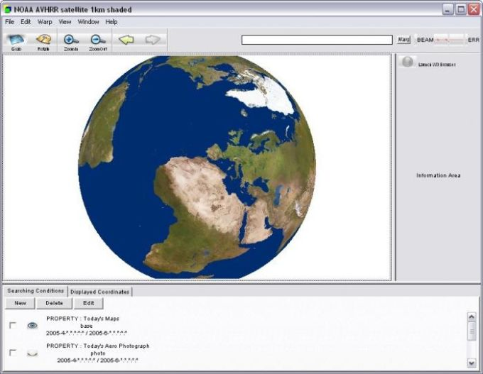 Cosmos Globalbase Browser