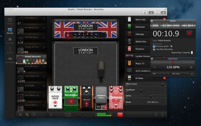 AmpKit - guitar amp & effects