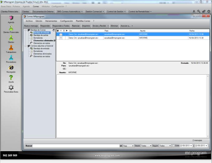 MNprogram software CRM
